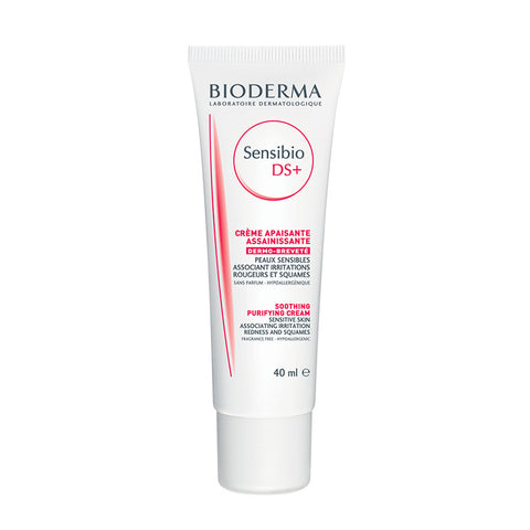 Bioderma Sensibio DS+ Soothing Purifying Cream ansigtscreme til tør og irriteret hud - 40ml