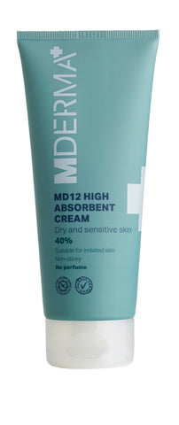 MD12 High Absorbant Cream 200 ml - barrierestyrkende creme til kroppen