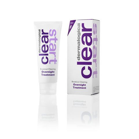 Dermalogica Clear Start Breakout Clearing Overnight Treatment til akne - 60ml