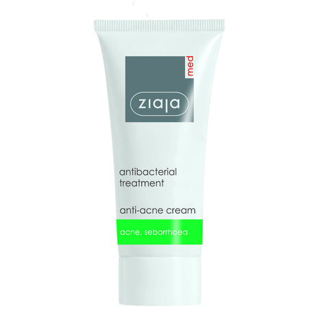 Ziaja Antibacterial Anti-Acne Cream til akne – 50ml