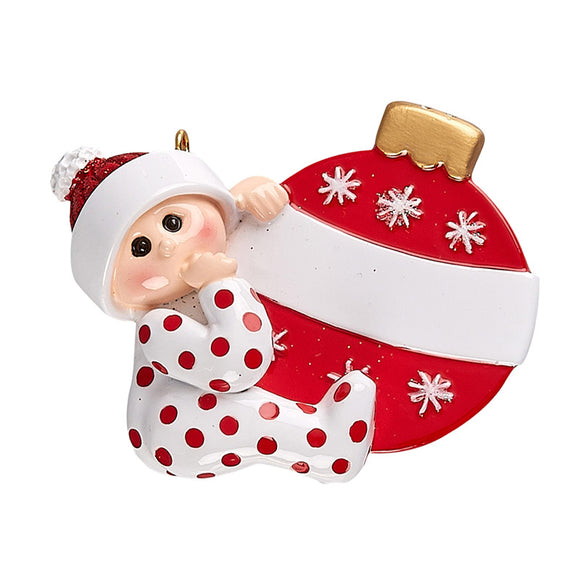 Baby Bauble Ornament