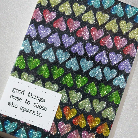Good Things... Glitter Notebook