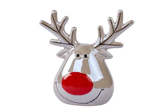 Ceramic Reindeer Head
