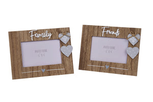 Family/Friends Wooden Frame