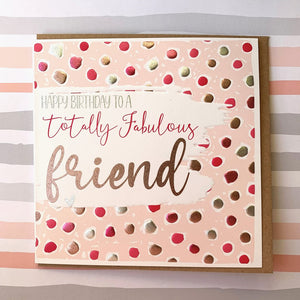Fabulous Friend Card