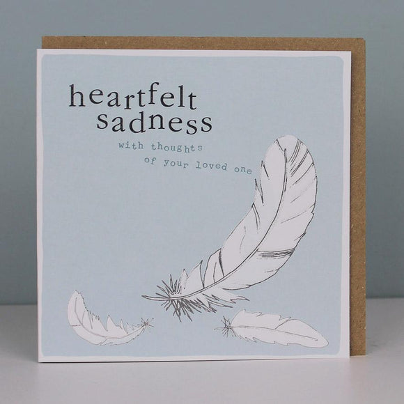 Heartfelt Sadness Card
