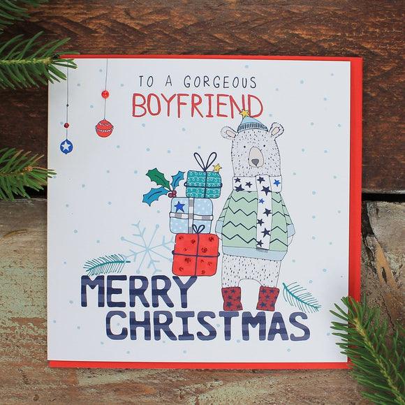 Gorgeous Boyfriend Card