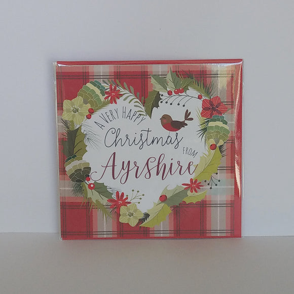 Very Happy Christmas from Ayrshire Card