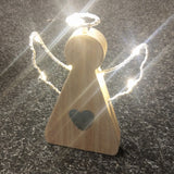 LED Angel with Light Up Wings