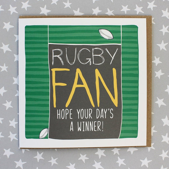 Rugby Fan Card