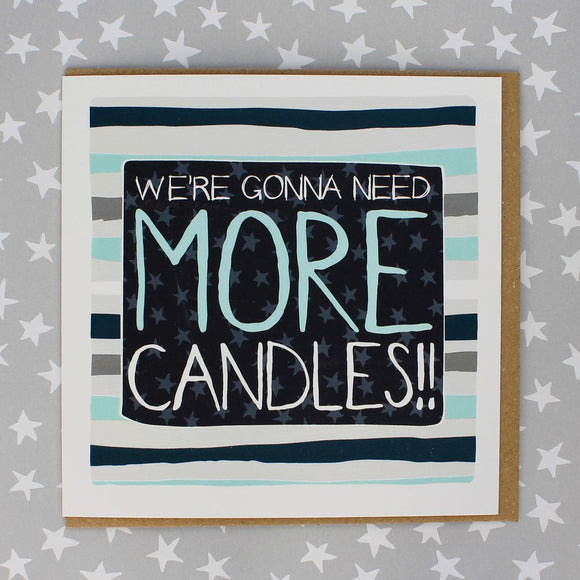 More Candles Card