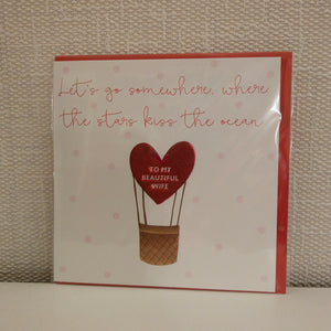Wife Valentine Card