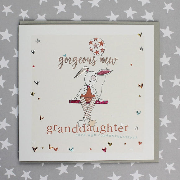 Gorgeous New Granddaughter Card