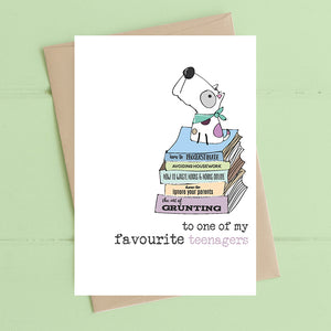 Favourite Teenager Card