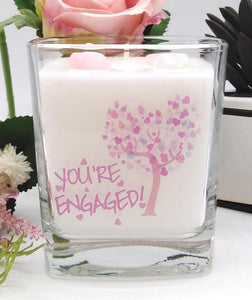 Engagement Candle
