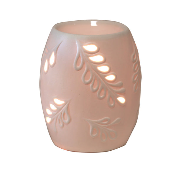 Electric Melt Warmer - Ceramic Leaf