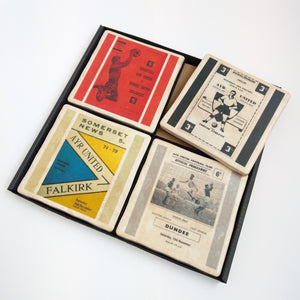Ayr Utd. Coaster Set