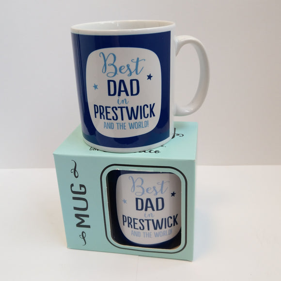 Best Dad in Prestwick Mug