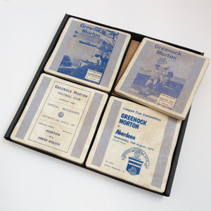 Greenock Morton Coaster Set