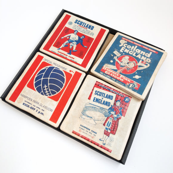 Scotland v England Coaster Set