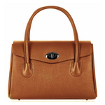 Handbag Isabella Italian Leather Classic Shape Handbag in Eight Colours - MyExquisite...