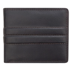 Leather wallet Carson Brown Leather Bifold Wallet with RFID Card Protection - MyExquisite...