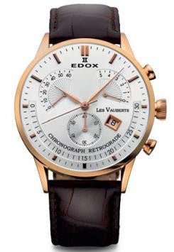 Edox Les Vauberts Chronograph Retrograde 01505 37R AIR