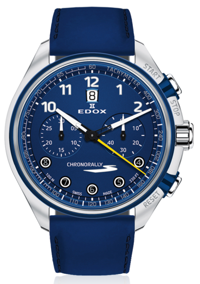 Edox Chronorally-S Chronograph Automatic 08005 3BUCBU BUBG