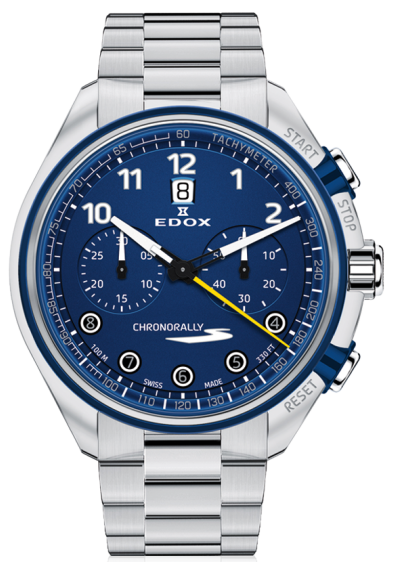 Edox Chronorally-S Chronograph Automatic 08005 3BUM BUBG