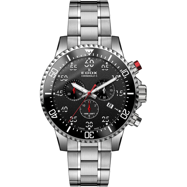 Edox Chronorally-S Chronograph 10227 3M NBN