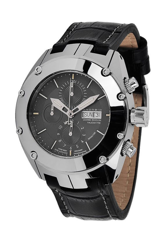 ANDROID Virtuoso Tungsten T-100 7750 Automatic Chrono LE AD621AK