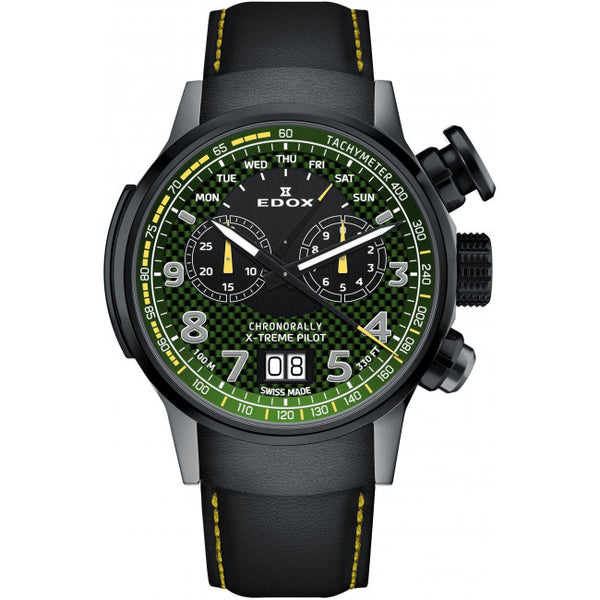 Edox Chronorally Chronograph 38001 TINGN V3 Limited Edition