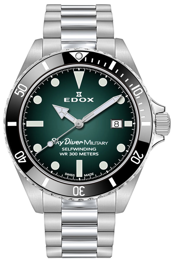 Edox SkyDiver Military Limited Edition 80115 3N VD