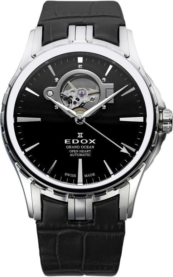 Edox Grand Ocean Open Heart Automatic 85008 3 NIN