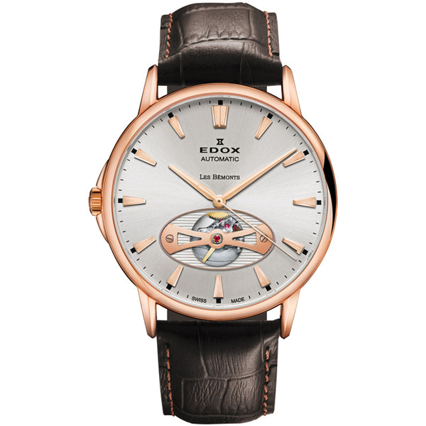 Edox Les Bemonts Open Vision Automatic 85021 37R AIR