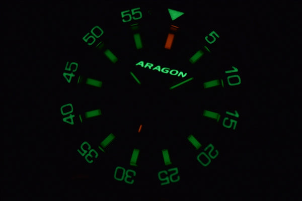 ARAGON Charger 50 T100 Flat Tube Automatic A147BLU