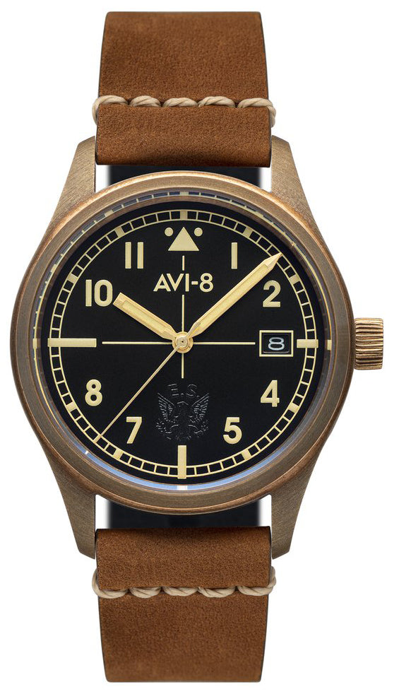 AVI-8 Eagle Squadron Bronze Automatic AV-4071-01