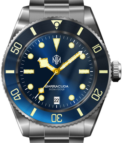 NTH Barracuda Blue Date