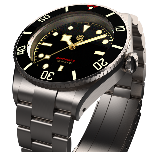 NTH Barracuda Vintage Black Date