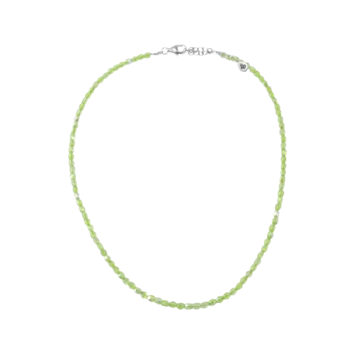 Barse Green Crystal Necklace