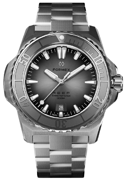 Formex REEF Automatic Chronometer 300m Silver Steel