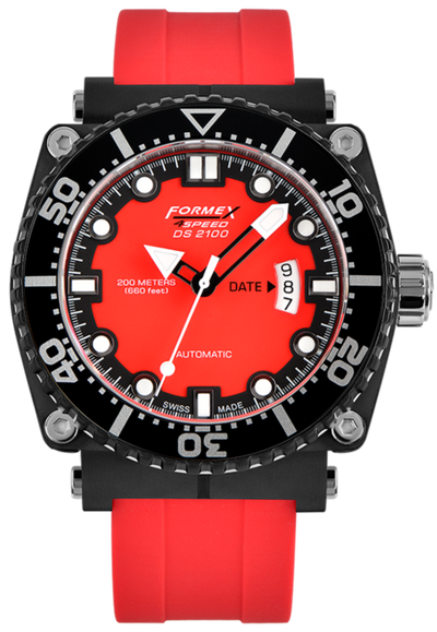 Formex Diver Automatic Red