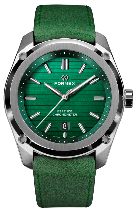 Formex Essence ThirtyNine Chronometer Green Leather