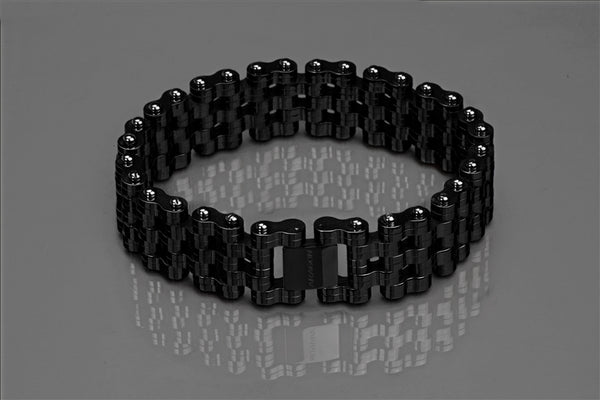 ARAGON Charger 22mm Bracelet JX140BLK