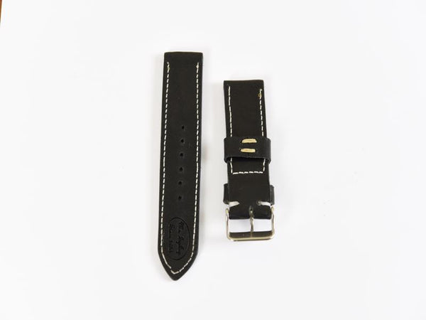 Mr. TipTop Straps Black 24mm MRT006