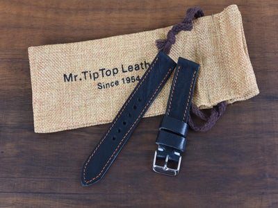 Mr. TipTop Straps Black 20mm MRT010