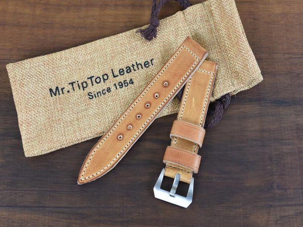 Mr. TipTop Straps Cognac 22mm MRT034