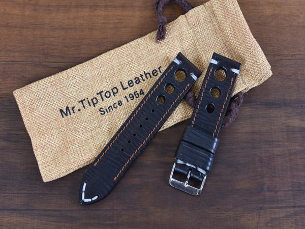 Mr. TipTop Straps Black 24mm MRT043