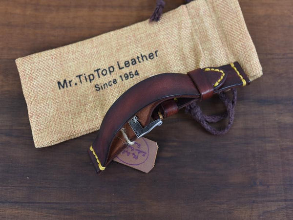 Mr. TipTop Straps Brown 22mm MRT046