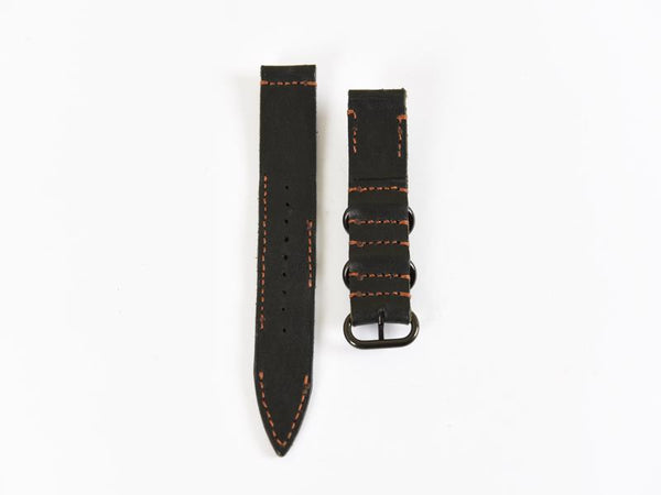 Mr. TipTop Straps Black 22mm MRT048